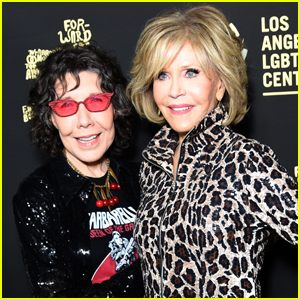 Jane Fonda & Lily Tomlin Celebrate Los Angeles LGBT Center's 50th Anniversary!
