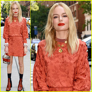 Kate Bosworth Wows in Orange