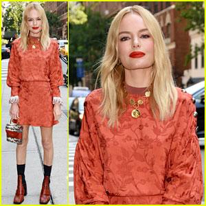 Kate Bosworth Wows in Orange