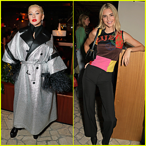 Christina Aguilera Steps Out For LOVE Magazine's London Fashion Week Bash