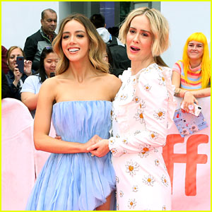 Chloe Bennet Reveals This Is Actually the Moment She First Met 'Abominable' Co-Star Sarah Paulson!