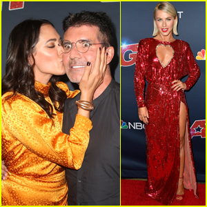 Simon Cowell & Longtime Love Lauren Silverman Pack on the PDA at 'America's Got Talent' 2019 Finals!