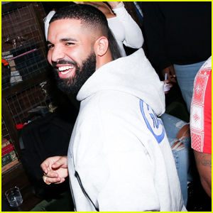 Drake Supports Friends at 'superdown' Launch Party in LA