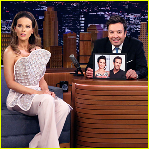 Kate Beckinsale Tells 'Fallon' She's Convinced She Looks Exactly Like Ryan Reynolds!