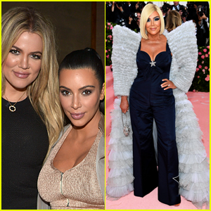 Kim & Khloe Kardashian's Reaction to Kris Jenner's Met Gala 2019 Look Is Not Positive!
