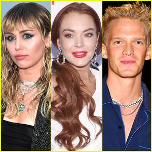 Lindsay Lohan Throws Shade at Miley Cyrus, Tells Cody Simpson He 'Failed'