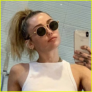 Miley Cyrus Posts Revealing Selfies in a See-Through Crop Top - See the Pics!