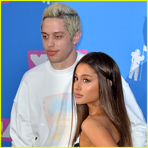 Pete Davidson Makes Rare Comment About Ariana Grande