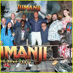 Dwayne Johnson, Jack Black, Kevin Hart & 'Jumanji: The Next Level' Cast Kick Off Promo Tour in Mexico!