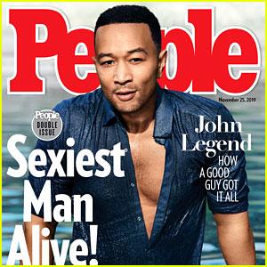 John Legend is People's Sexiest Man Alive 2019 - See Chrissy Teigen's Reaction!