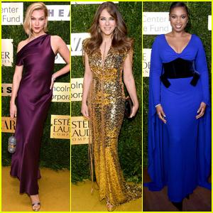 Karlie Kloss, Elizabeth Hurley & Jennifer Hudson Show Their Style at Lincoln Center Corporate Fashion Gala