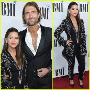 Pregnant Maren Morris & Husband Ryan Hurd Couple Up for BMI Country Awards 2019