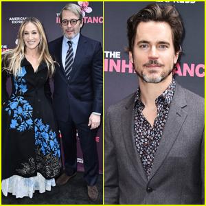 Sarah Jessica Parker, Matthew Broderick, & Matt Bomer Attend 'The Inheritance' Opening Night