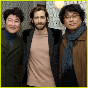 Jake Gyllenhaal Shows His Support at 'Parasite' Screening in New York City