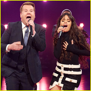 Camila Cabello Sings Current Hits While James Corden Brings It Back to 1999 During a Riff-Off!