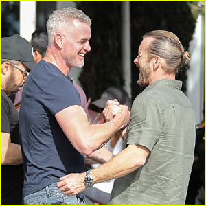 Eric Dane Shows Off Bulging Biceps While Meeting Friend for Lunch