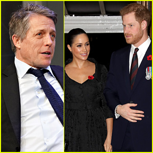 Hugh Grant Voices Support for Prince Harry & Meghan Markle