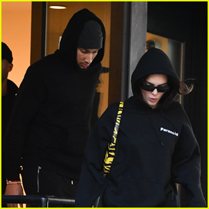 Kendall Jenner & On-Again Boyfriend Ben Simmons Grab Lunch in NYC
