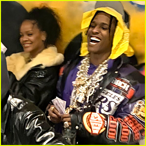 Rihanna Spends Time with A$AP Rocky Amid Her Breakup
