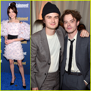 Charlie Heaton, Natalia Dyer & 'Stranger Things' Cast Attend Entertainment Weekly's Pre-SAG Awards Celebration