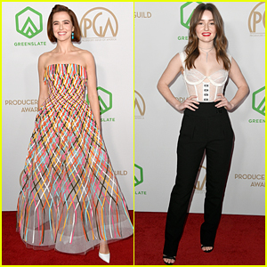 Zoey Deutch & Kaitlyn Dever Hit the Red Carpet at Producers Guild Awards 2020