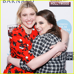 Beanie Feldstein Honored By Greta Gerwig at Athena Film Festival Awards 2020