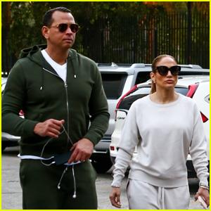 Jennifer Lopez & Alex Rodriguez Wrap Up Their Weekend with a Workout