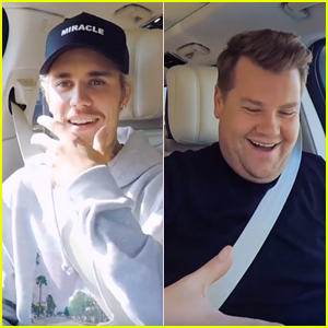 Justin Bieber & James Corden Come Up With 'Yummy' TikTok Dance During 'Carpool Karaoke'