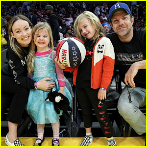 Olivia Wilde & Jason Sudeikis Make Rare Appearance with Their Adorable Kids!