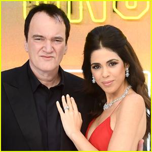Quentin Tarantino & Wife Daniella Pick Welcome First Child!