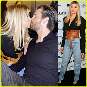 Sofia Richie Calls Scott Disick 'My Love,' Posts Kissing Photo at Her Rolla's Event