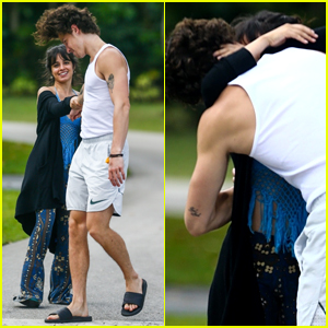 Shawn Mendes & Camila Cabello Share a Passionate Kiss on Their Morning Walk!