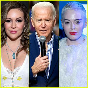Alyssa Milano's 'Charmed' Co-Star Rose McGowan Goes After Her on Twitter Over Biden Comments