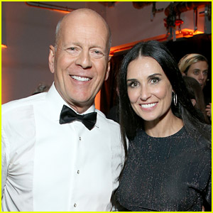 Bruce Willis & Demi Moore Are Quarantining Together - In Matching Pajamas!