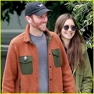 Lily Collins Shares Some Laughs With Boyfriend Charlie McDowell During Walk in LA