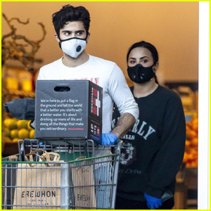 Demi Lovato & Boyfriend Max Ehrich Break from Quarantining to Load Up on Groceries