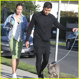 Olivia Munn Helps Henry Golding Find Dog To Foster During Pandemic