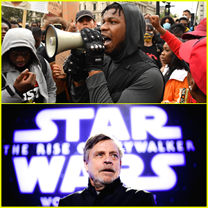 Star Wars & Mark Hamill Support John Boyega After He Gives Passionate Protest Speech