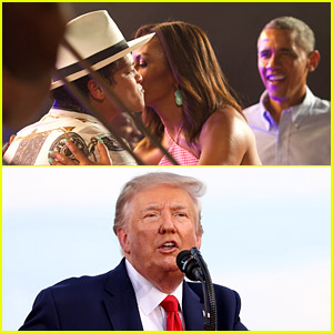 Obama Had Bruno Mars at His July 4th Party in 2015, Trump Had a Guy Singing Bruno Mars in 2020