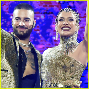 Jennifer Lopez Teases New Music with Maluma!