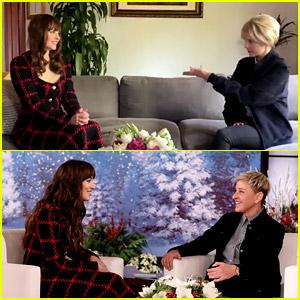 Sarah Ramos Hilariously Recreates Dakota Johnson's Infamous Interview with Ellen DeGeneres