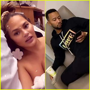 Pregnant Chrissy Teigen Has Been Hospitalized, Gives Update on What's Happening