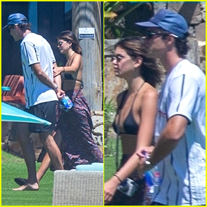Kaia Gerber & Jacob Elordi Spend Some Time Alone During Mexico Vacation