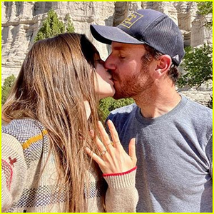 Lily Collins & Charlie McDowell Are Engaged - See the Ring!