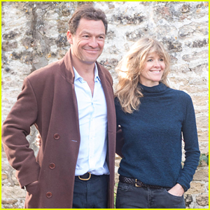 There's a Reason Why Dominic West & Wife Catherine FitzGerald Did That Photo Shoot After His Lily James PDA Outing
