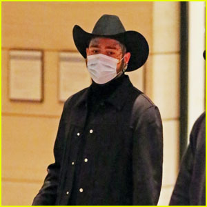 Post Malone Rocks a Cowboy Hat at Hotel in LA
