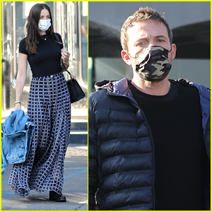 Ben Affleck Stops By A Jewelry Store With Ana de Armas Ahead of Thanksgiving