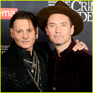 Jude Law Comments on Co-Star Johnny Depp's Exit from 'Fantastic Beasts 3'