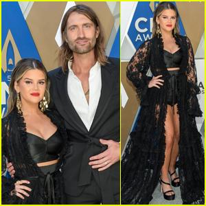 Maren Morris Shows Off Major Leg Arriving at CMA Awards 2020 with Hubby Ryan Hurd