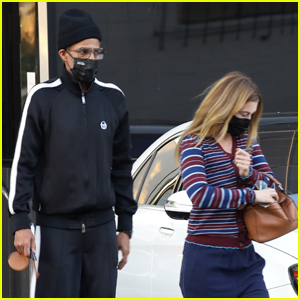 Ellen Pompeo Does Some Shopping in Beverly Hills with Hubby Chris Ivery